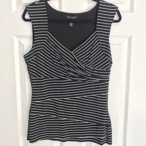 WHBM sleeveless jersey knit blouse